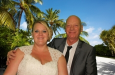 Debby & Eddy's Wedding, Belle Vue Club Hartlepool - 30.08.2014